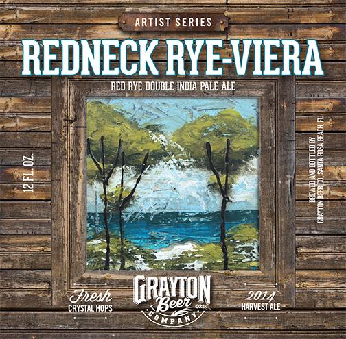 Redneck Rye-viera Label